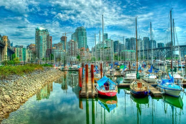 Vẻ đẹp siêu thực của thành phố Vancouver - anh 1