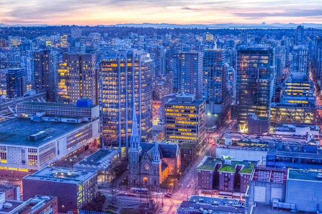 Vẻ đẹp siêu thực của thành phố Vancouver - anh 2