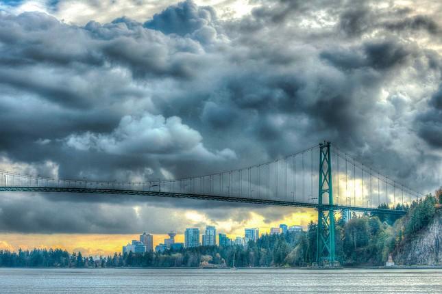 Vẻ đẹp siêu thực của thành phố Vancouver - anh 5