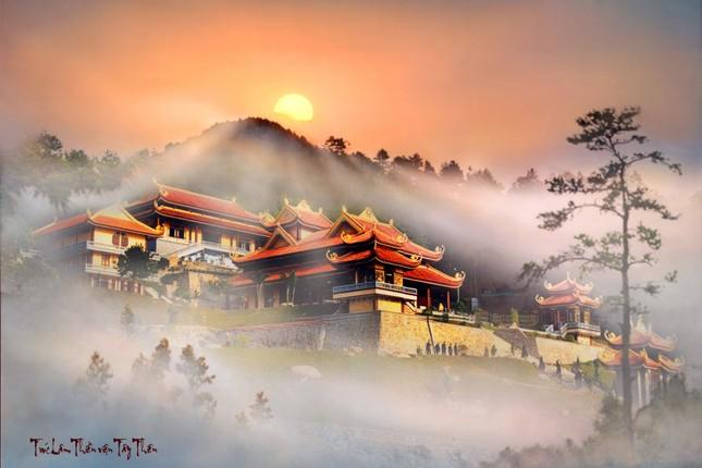 Điểm danh những thiền viện Việt Nam có kiến trúc tuyệt đẹp - anh 1