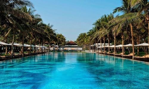 Ghé Hội An chiêm ngưỡng vẻ đẹp hồ bơi đẹp nhất thế giới - anh 1