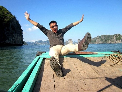 BTV Quang Minh: chuyến du lịch có đủ thành viên trong gia đình tôi là cách đây 1 năm - anh 2