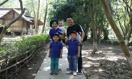 BTV Quang Minh: chuyến du lịch có đủ thành viên trong gia đình tôi là cách đây 1 năm - anh 5