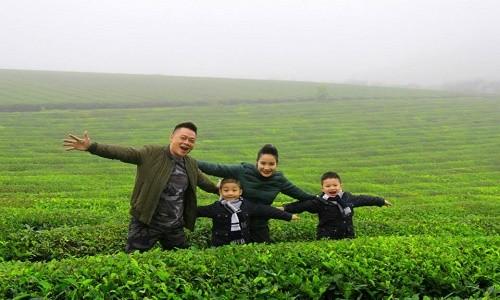 BTV Quang Minh: chuyến du lịch có đủ thành viên trong gia đình tôi là cách đây 1 năm - anh 8
