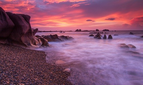 Ngắm bãi đá 7 màu tuyệt đẹp tại Cổ Thạch - anh 3