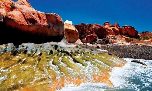 Ngắm bãi đá 7 màu tuyệt đẹp tại Cổ Thạch - anh 8