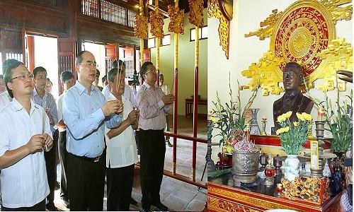 Thăm Hưng Yên quê hương cố Tổng bí thư Nguyễn Văn Linh - anh 3