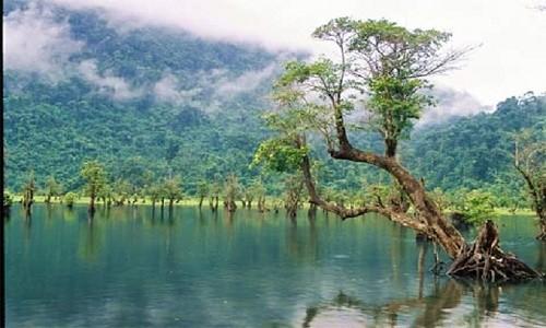 """Hồ Noong – chốn """"tiên cảnh"""" ở miền cao Hà Giang - anh 2"""