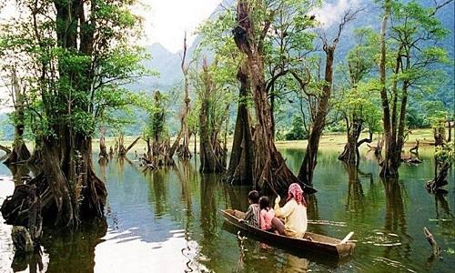 """Hồ Noong – chốn """"tiên cảnh"""" ở miền cao Hà Giang - anh 6"""