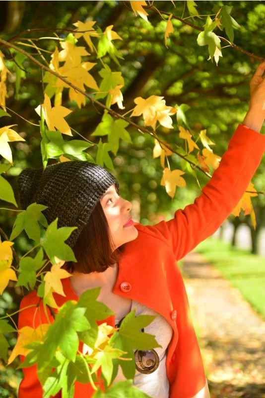 Vân Trang đẹp rạng ngời với phong cảnh mùa thu nước Úc - anh 2