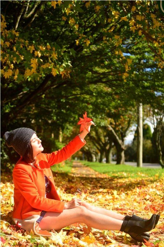Vân Trang đẹp rạng ngời với phong cảnh mùa thu nước Úc - anh 3