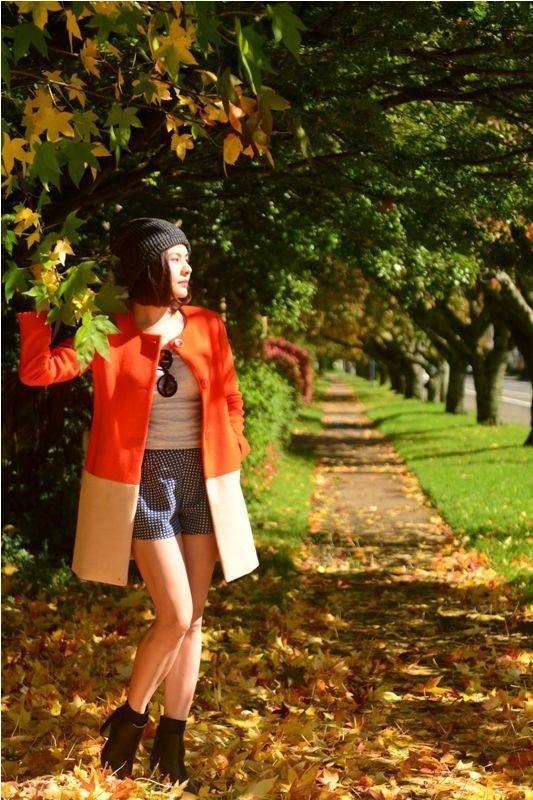 Vân Trang đẹp rạng ngời với phong cảnh mùa thu nước Úc - anh 4
