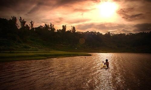 Chiêm ngưỡng vẻ đẹp hồ T'nưng - hồ nước ngọt lớn nhất Tây Nguyên - anh 6
