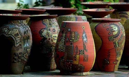 Làng gốm Phù Lãng – nét thanh bình bên dòng sông Cầu miền Kinh Bắc - anh 2