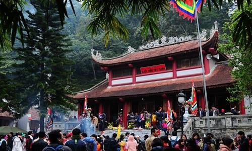 Ghé thăm Thiền viện Trúc Lâm Tây Thiên mùa Vu Lan 2015 - anh 1