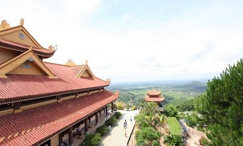 Ghé thăm Thiền viện Trúc Lâm Tây Thiên mùa Vu Lan 2015 - anh 5