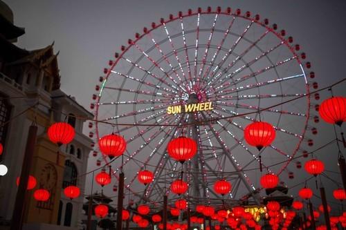 Rằm tháng 7, lạc vào thế giới đèn lồng rực rỡ sắc màu ở Đà Nẵng - anh 3