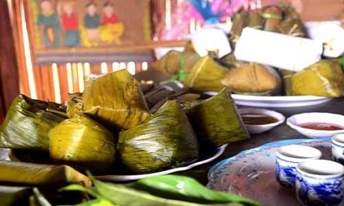 Bánh vắt vai - món ngon của người dân tộc Cao Lan ở Bắc Giang - anh 1