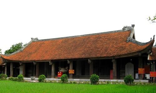 Đến chùa Keo ngắm nhìn cảnh quan đẹp tựa tranh vẽ của miền đất lúa - anh 1