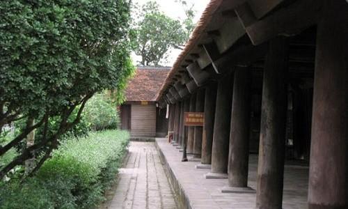 Đến chùa Keo ngắm nhìn cảnh quan đẹp tựa tranh vẽ của miền đất lúa - anh 4