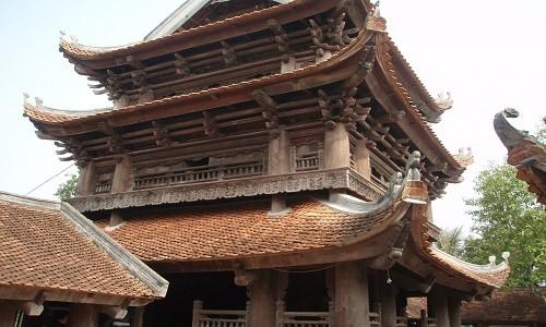 Đến chùa Keo ngắm nhìn cảnh quan đẹp tựa tranh vẽ của miền đất lúa - anh 6
