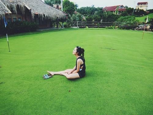 Ca sĩ Emily mong muốn đặt chân đến thiên đường nghỉ dưỡng Maldives - anh 1