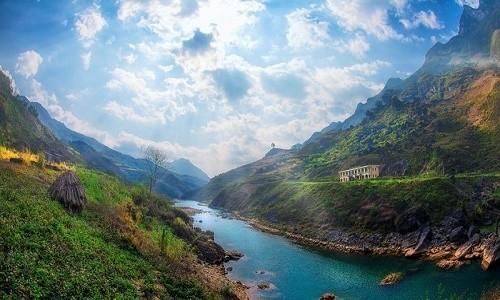 Sông Nho Quế - vẻ đẹp mê hồn của dòng sông trên cao nguyên đá - anh 2