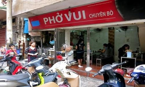 Những quán phở có tên lạ ở Hà Nội - anh 2