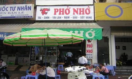 Những quán phở có tên lạ ở Hà Nội - anh 3