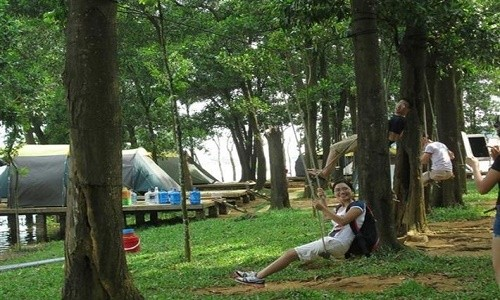 Khu du lịch sinh thái Đồng Mô - điểm đến lý tưởng cho sinh viên vào cuối tuần - anh 5