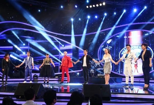 Chàng trai Việt kiều - Trọng Hiếu bùng nổ trong Gala 1 Vietnam Idol - anh 2