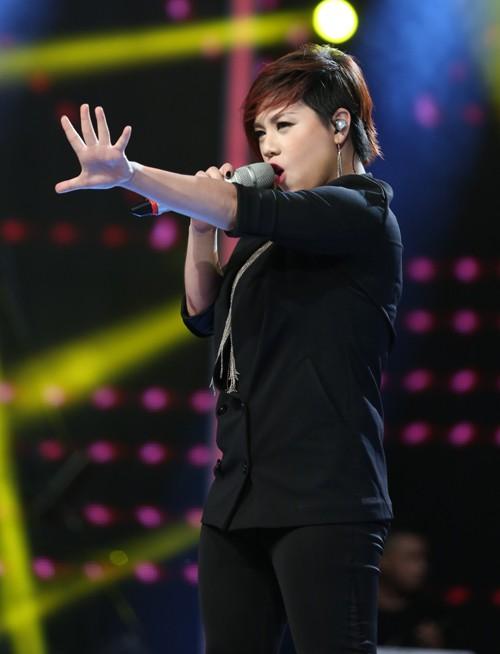 Chàng trai Việt kiều - Trọng Hiếu bùng nổ trong Gala 1 Vietnam Idol - anh 12