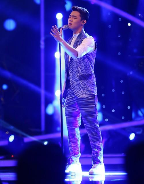 Chàng trai Việt kiều - Trọng Hiếu bùng nổ trong Gala 1 Vietnam Idol - anh 7