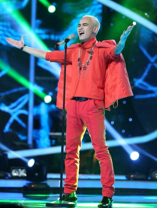 Chàng trai Việt kiều - Trọng Hiếu bùng nổ trong Gala 1 Vietnam Idol - anh 9