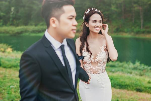 Vợ chồng Diễm Hương tung ảnh cưới lãng mạn tại Đà Lạt - anh 10