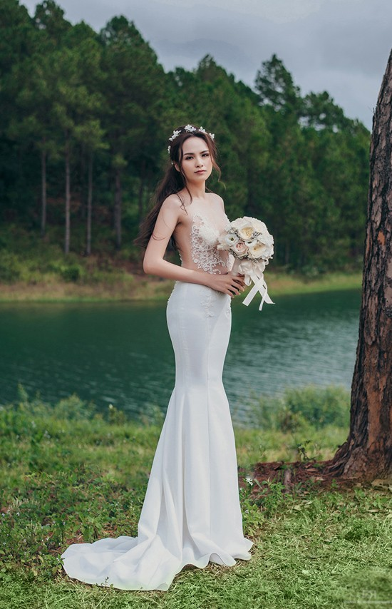 Vợ chồng Diễm Hương tung ảnh cưới lãng mạn tại Đà Lạt - anh 14