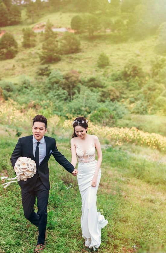 Vợ chồng Diễm Hương tung ảnh cưới lãng mạn tại Đà Lạt - anh 5