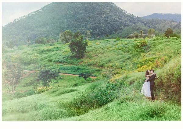 Vợ chồng Diễm Hương tung ảnh cưới lãng mạn tại Đà Lạt - anh 8