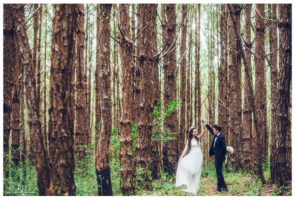 Vợ chồng Diễm Hương tung ảnh cưới lãng mạn tại Đà Lạt - anh 9