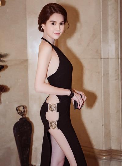 Ngọc Trinh diện váy táo bạo trên thảm đỏ sự kiện ở Hàn Quốc - anh 2