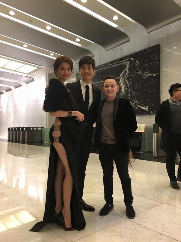 Ngọc Trinh diện váy táo bạo trên thảm đỏ sự kiện ở Hàn Quốc - anh 8