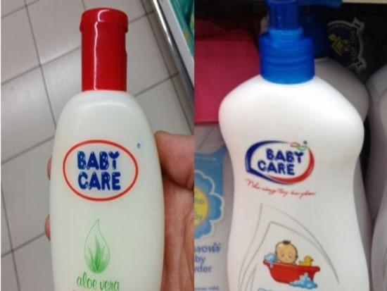Đình chỉ lưu hành 2 loại sữa tắm của trẻ - anh 1