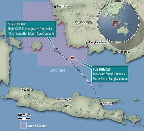 Những bí ẩn của vùng biển Java nơi QZ8501 rơi - anh 1
