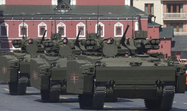 Những vũ khí khủng lần đầu xuất hiện trong Lễ Duyệt binh ở Nga - anh 5