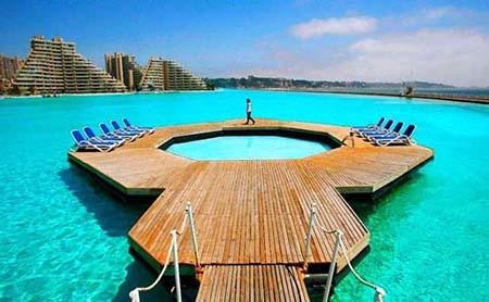 """Choáng ngợp trước """"thiên đường"""" bể bơi nhân tạo lớn nhất thế giới - anh 5"""