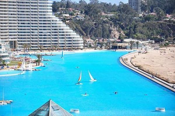 """Choáng ngợp trước """"thiên đường"""" bể bơi nhân tạo lớn nhất thế giới - anh 9"""