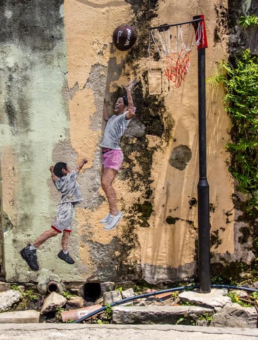 Ngỡ ngàng với bức tranh nghệ thuật trên đường phố Penang - anh 5