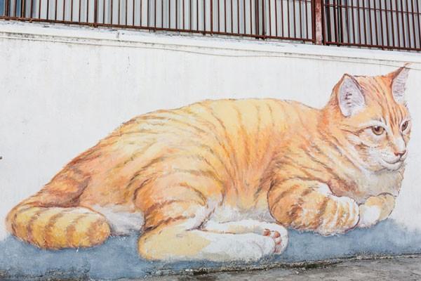 Ngỡ ngàng với bức tranh nghệ thuật trên đường phố Penang - anh 7