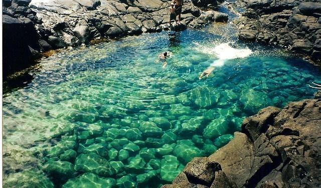 """Mê mẩn trước vẻ đẹp """"đốn tim"""" du khách cuả bể bơi đẹp nhất Hawaii - anh 3"""