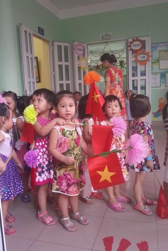 Sao Việt đồng loạt khoe ảnh con ngày khai trường - anh 7